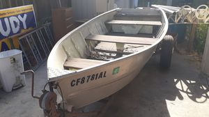 12 footer Used Boat/Title and or papers/New Tires for Sale in Stockton, CA