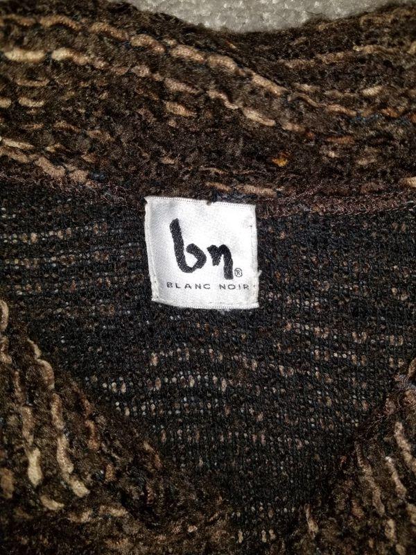 Blanc noir button up cardigan sweater