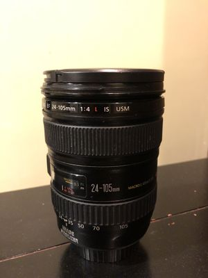 Canon 24-105mm f/4 Lens Used for Sale in Newton, MA
