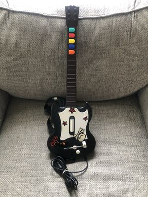PS2 Playstation Guitar Hero Gibson Black Octane Wired Controller Guitar Tested for Sale in Fresno, CA