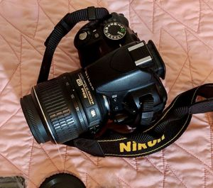 Nikon D3100 DSLR Camera with 18-55mm lens etc - FIRM PRICE for Sale in Anaheim, CA