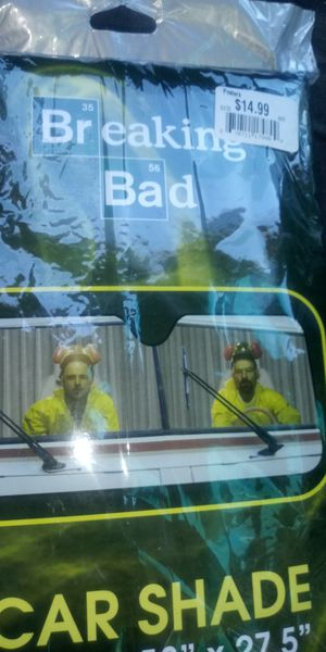 'Breaking Bad' Car Shade for Sale in Rialto, CA