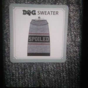 Dog Sweater Gray Blue Size Large for Sale in Broken Arrow, OK