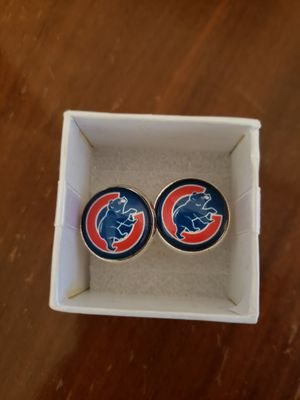 Brand new Chicago Cubs cuff links for Sale in Goodyear, AZ