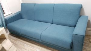 Good condition blue pull out couch for Sale in New York, NY