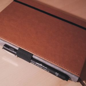 A5 Hardcover Notebook With Pen Loop for Sale in Montgomery, AL