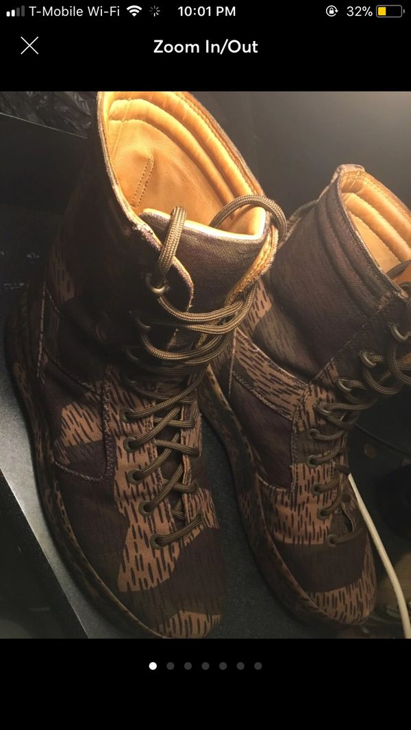 Yeezy combat boots season 6 Great Condition