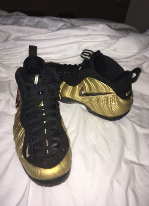 Nike foam posite All Gold Pro for Sale in Lansdowne, VA