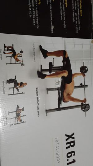 USED Weider XR 6.1 Weight bench $100 for Sale in Mansfield, MA
