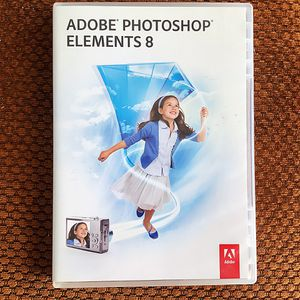 Adobe photoshop elements 8 for windows for Sale in Wildomar, CA