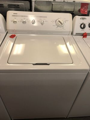 Used kenmore heavy duty washer. 1 year warranty for Sale in St. Petersburg, FL