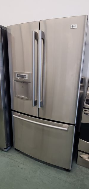 Stainless Steel LG Refrigerator for Sale in Littleton, CO