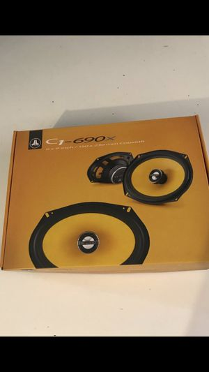 JL AUDIO 6x9 door speakers c1-690x for Sale in Chino Hills, CA