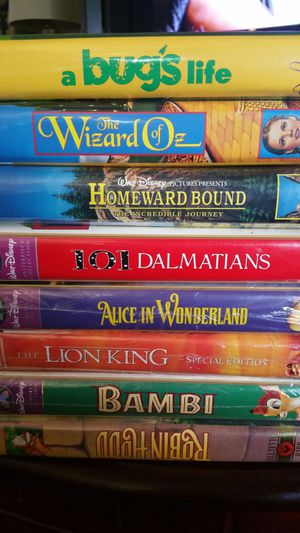 Collection of new Disney VHS for Sale in Washington, PA