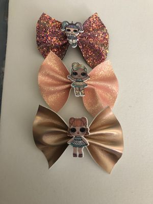 $3 each lol dolls hair bows or all for $8 for Sale in Anaheim, CA
