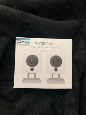 NEW! Wyze Cam 1080p HD WiFi indoor camera 2-pack for Sale in Hayward, CA