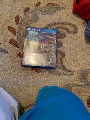 PlayStation 4 game Kingdom Hearts III for Sale in Los Angeles, CA