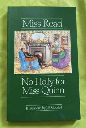 No Holly for Miss Quinn by Miss Read 1992 PB Middle Readers Christmas story VG for Sale in Portland, OR