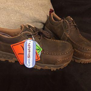 Women's Work Steeltoe Leather Boots for Sale in Lawrenceville, GA