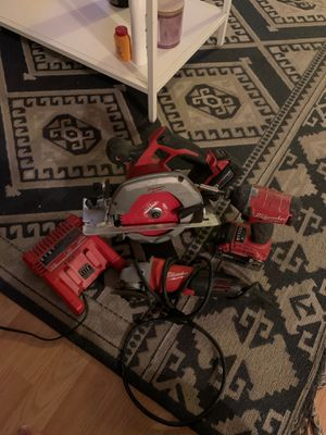 Milwaukee tools for Sale in San Diego, CA