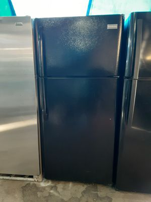 $299 Frigidaire black 18 cubic fridge includes delivery in the San Fernando valley warranty and installation included for Sale in Los Angeles, CA