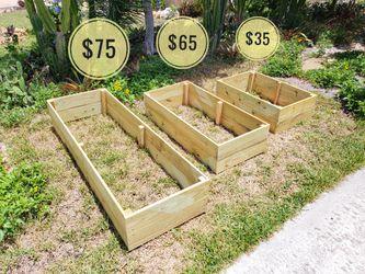 garden bed, planter , gardening, garden pot, Planter box, garden, plants, wood box, planting, farming, veggies, fruits, trees, food, flowers for Sale in Pompano Beach,  FL
