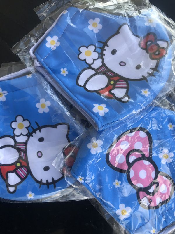 Hello Kitty Baby Blue Facemask 😺