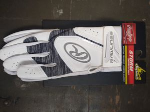 RAWLINGS XL WOMAN'S SOFTBALL BATTING GLOVES for Sale in Levittown, NY