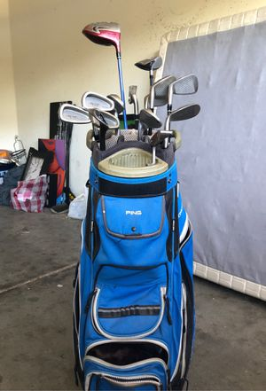 Ping golf bag and driver for Sale in Queen Creek, AZ