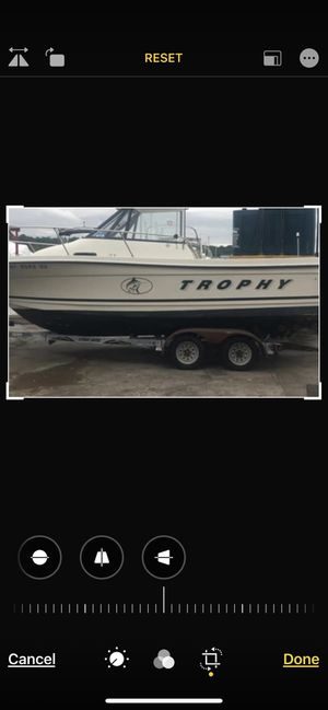 (Miss Aliss) trophy Bayliner, Walk around fishing boat for Sale in Danbury, CT