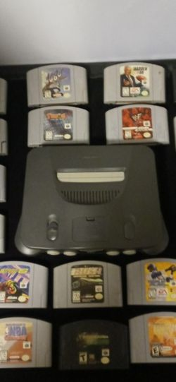22 Games N64.and System +TV $990 for Sale in Winter Haven,  FL