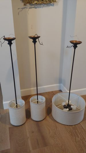 Light fixtures - over table and pendant for Sale in Kenmore, WA