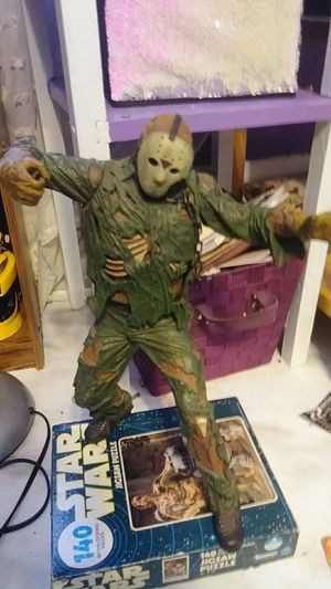 FRIDAY THE 13TH JASON 2003 NECA GIANT DETAILED ACTION FIGURE 85.00 for Sale in Newark, OH