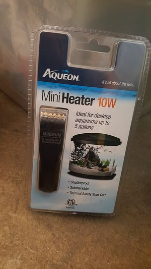 Aqueon Mini Heater is ideal for desktop aquariums ♡ for Sale in Los Angeles, CA