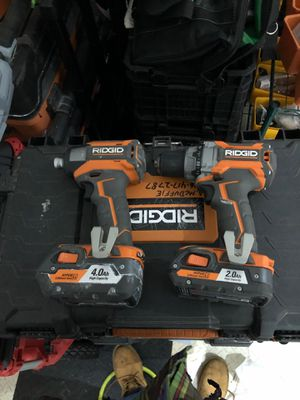 Ridgid Gen5X Driil and Impact set for Sale in Purcellville, VA