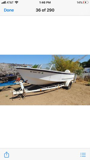 16 ft fishing boat for Sale in Brentwood, CA