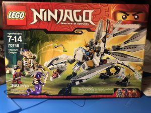 Lego Ninjago/Titanium Dragon for Sale in Grand Island, NY