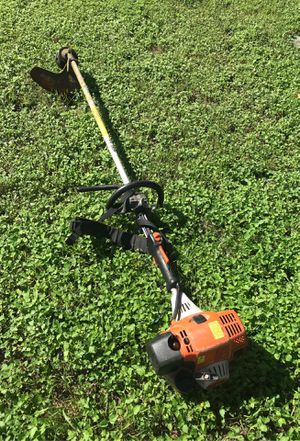 Stihl FS 130R weed trimmer with blade attachments for Sale in Austin, TX