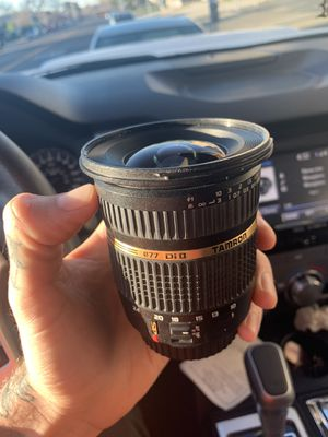 Tamron 10mm-24mm wide angle lense for canon for Sale in San Jose, CA