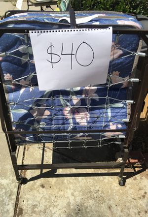 Foldable bed for Sale in San Diego, CA