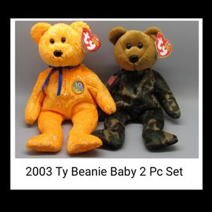 2003 Ty Beanie Baby 2 Pc Set. SHIPPING ONLY 😉 for Sale in Colorado Springs, CO