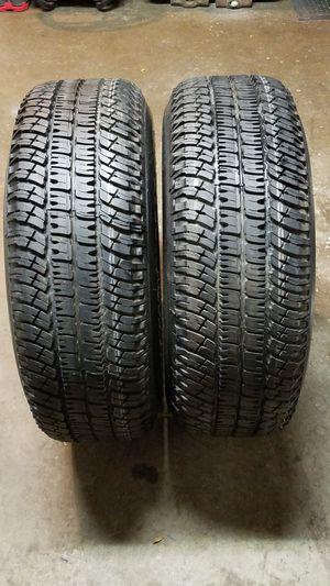 (TWO) Michelin LTX A/T P265/70R17 $300. for Sale in Sacramento, CA