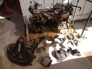 2f engine from a 1985 Toyota Land Cruiser FJ60, misc parts included for Sale in Phoenix, AZ
