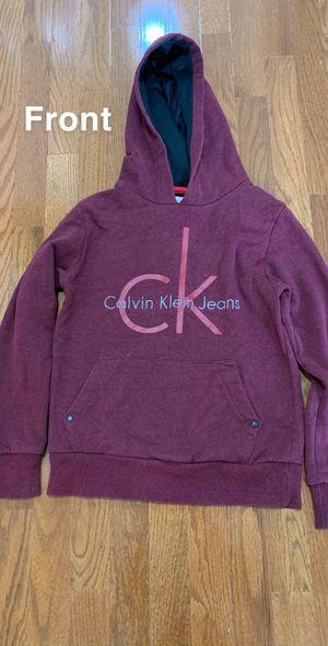 Red Calvin Klein sweatshirt for Sale in Gainesville, VA