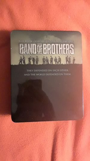 Band of Brothers 2001 HBO Miniseries Blu-Ray in Collectible Tin for Sale in San Marino, CA