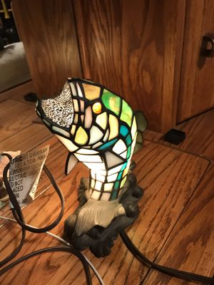 Slide turn on fish lamp beauty for Sale in Stockton, CA