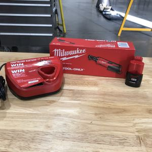 M12 Cordless 3/8 Ratchet+ Battery+charger for Sale in Cohasset, CA