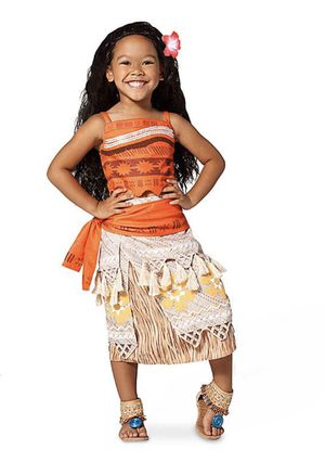 Moana Costume 🌺 (Disney Store) for Sale in Riverside, CA