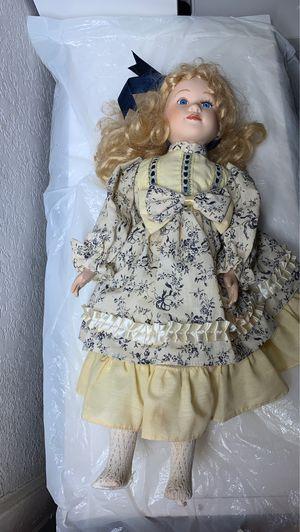 Antique porcelain doll for Sale in Palm Springs, FL