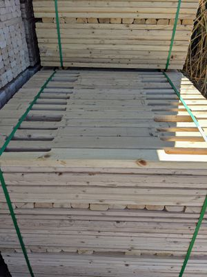 "2x4x48"" Notched Pallet Stock WF for Sale in Riverside, CA"